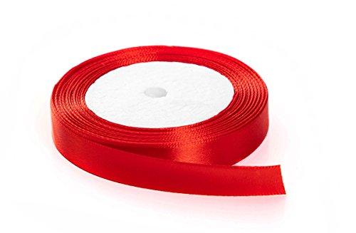 Red Satin Ribbon - 4
