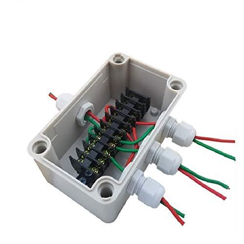 WFBD-CN Batterieklemmen Im Freien Wasserdichten Kunststoff-Anschlussbox Terminal One in DREI 130 * 80 * 70mm-Siegelkasten