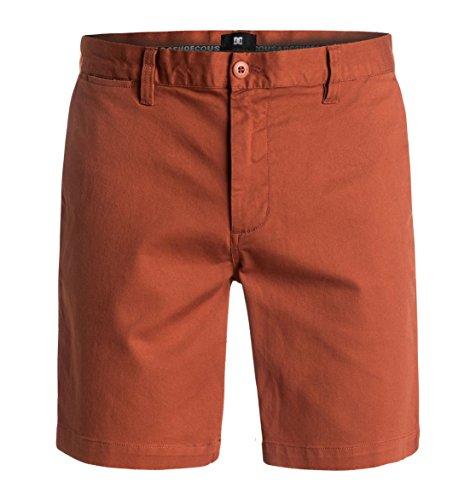DC Shoes Worker Slim - Shorts - Short - Homme - 30 - Orange