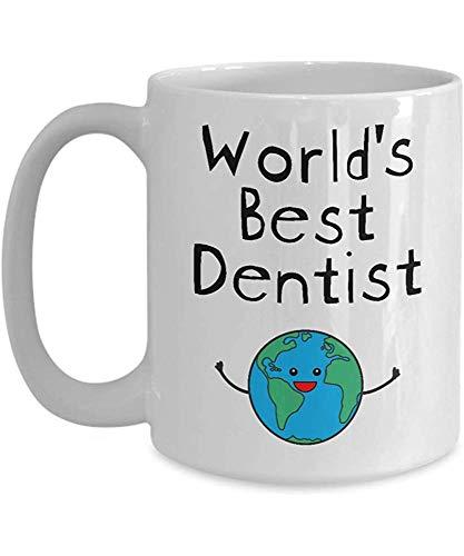Weltbester Zahnarzt-Becher - Zahnmedizinische Schulklinik-nationaler Zahnarzt-Tageszahnmedizin-Student - Männer Badass Zukunft 11Oz