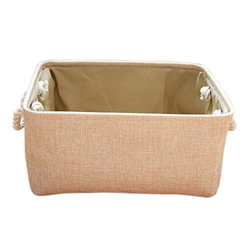 Woven Storage Basket For Toy Storage,Wicker Basket For Shelves,For Gifts Empty, Storage Lined Baby Basket,Rectangular Small Basket