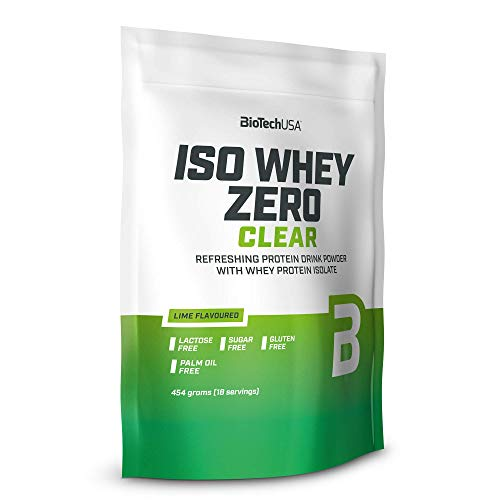 BioTech USA Iso Whey Zero Clear 454g - Whey Protein Isolate (Lime)