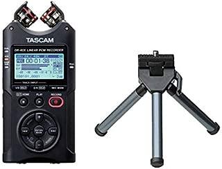 TASCAM タスカム - USB オーディオインターフェース搭載 4チャンネル リニアPCMレコーダー DR-40X + ミニ三脚 セット