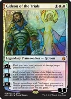 Magic: The Gathering - Gideon of the Trials - Foil - SDCC 2018 Exclusive