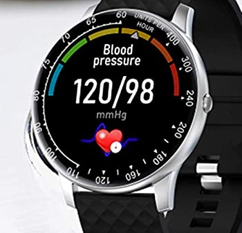 iFuntecky Smart Watch,Smartwatch for Android Phones Ip67 Waterproof Fitness Watch with Blood Pressure Heart Rate Monitor Activity Tracker Bluetooth Smartwatches for Samsung iOS Women Men