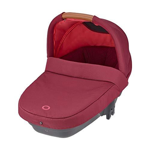 Bébé Confort Nacelle Amber Plus, Légère et Compacte, Naissance à 6 mois (10kg), Essential Red