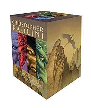 The Inheritance Cycle Series 4 Book Set Collection Eragon Eldest Brisngr
