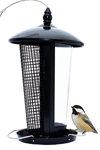 El Mejor Alimentador de Aves Silvestres para Decorar tu Casa o Jardín, Diseñado para todo Tipo de Semillas, Maní y Frutas Secas, es Perfecto para Pajaros Pequeños, Medianos y Grandes, Comedero Decorativo para Exterior. Ideal para Regalar a tu Familia o Amigos