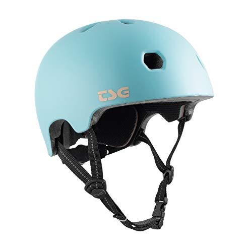 TSG Meta Solid Color Helm blau Kopfumfang L/XL | 58-60cm 2021 Fahrradhelm