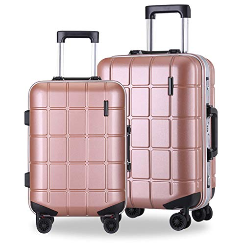 Best Price Travel Luggage 20in 24in 2 Piece Spinner Luggage Nested Travel Luggage Hardshell Trolley ...