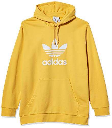 adidas Originals Men's Trefoil Warm-Up Hoodie Core Yellow XX-Large
