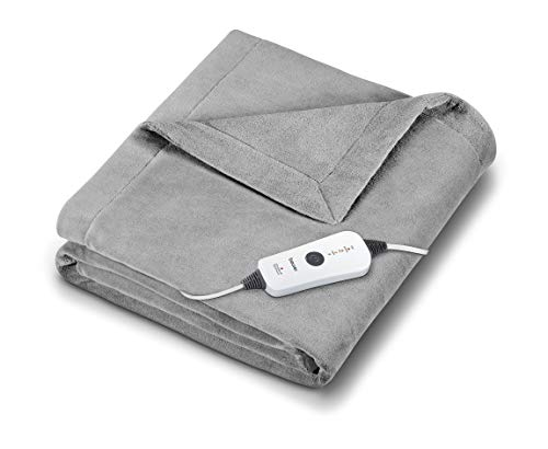 Beurer HD71 Heated Electric Blanket | Cozy-Soft Fleece...