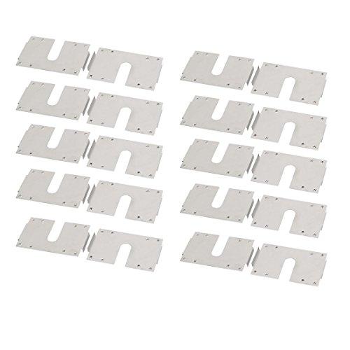 Aexit Edelstahl Hängende leitfähige Erdung Solar Photovoltaik Platte 20 Stück (e42fd561d80f9fe0b80205bfc585670f)