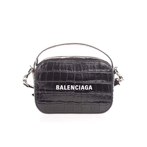 Balenciaga Luxury Fashion Donna 6086531LRCN1000 Nero Pelle Borsa A Mano | Autunno-inverno 20