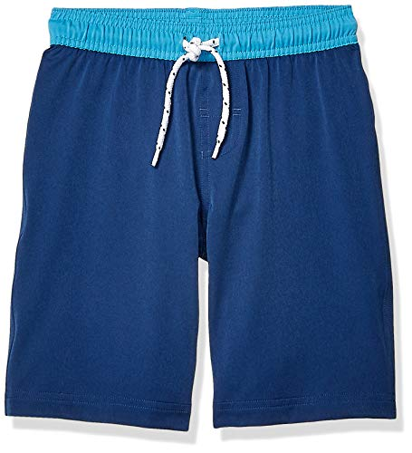 Amazon Essentials Jungen Badehose, Navy, US S (EU 116 CM)