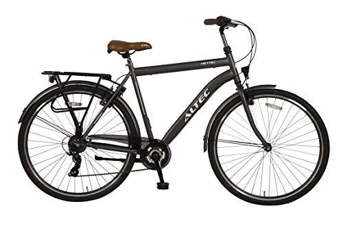 Altec 28 Zoll HERRENFAHRRAD CITYFAHRRAD City Bike Herren Rad Jugend Fahrrad CITYRAD Metro GRAU