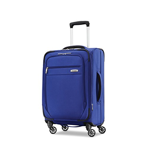 Samsonite Advena Softside Expandable Luggage with Spinner Wheels, Cobalt Blue, Carry-On 20-Inch