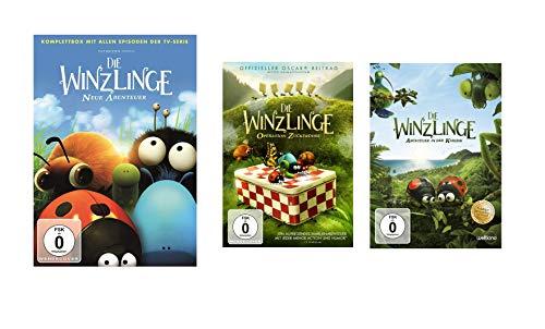 Die Winzlinge - Neue Abenteuer Box (Komplette TV Serie) + 2 Spielfilme (Operation Zuckerdose + Abenteuer in der Karibik) im Set - Deutsche Originalware [8 DVDs]