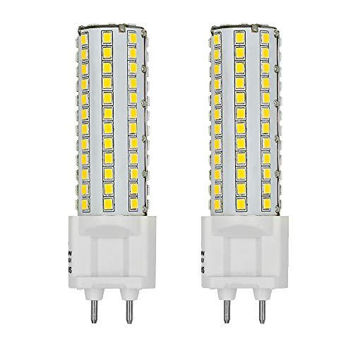 MENGS 2-er Pack LED Lampe G12 Brine 10W LED Mais Licht 80W Halogen Glühlampe Äquivalent, 360 Grad Öffnungswinkel 4000K Neutralweiß 800lm AC 85-265V 108x 2835 SMD