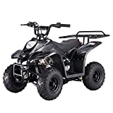 X-PRO 110cc ATV Quad Youth ATVs Quads 110cc 4 Wheeler ATVs ATV 4 Wheelers,Black