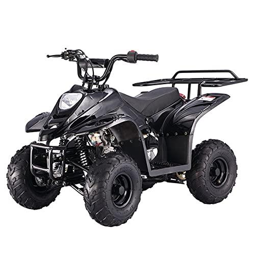 X-PRO 110cc ATV Quads Youth ATV Quad ATVs 4 Wheeler (Black)