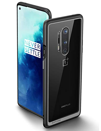 SUPCASE Unicorn Beetle Style Series Case for OnePlus 8 Pro 2020, Premium Hybrid Protective Clear OnePlus 8 Pro Case (Black)