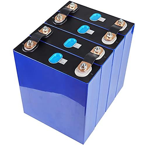 LONGRING Grado A 4/8 / 16PCS 3.2V 100AH LIFEPO4 Batería Celda 100AH 2021 Nuevo 12V 24V 48V Paquete RV DIY Solar EU EE. UU. Libre de impuestos UPS o FedEx,4PCS