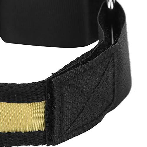Gaeirt Brazalete LED Ligero, Brazalete Ligero, para Atletas al Aire Libre para Night Stalker(Yellow)