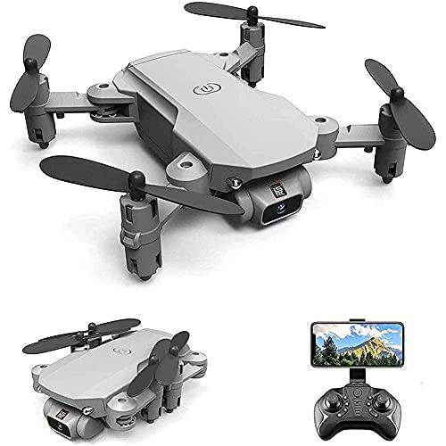 J-Clock Mini Drone con Fotocamera 1080P, quadricottero RC per Bambini e Adulti, 360 Gradi;Capovolgi, gesti Foto/Video, Traccia Volo, Mantenimento dell'altitudine, modalità Senza Testa