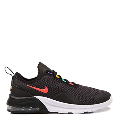 Nike Herren Air Max Motion 2 Traillaufschuhe, Schwarz (Black/Flash Crimson/University Gold 9), 39 EU