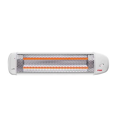 Wickeltisch-Wärmestrahler weiß, Wandmontage, 2 Heizstufen und Abschaltautomatik