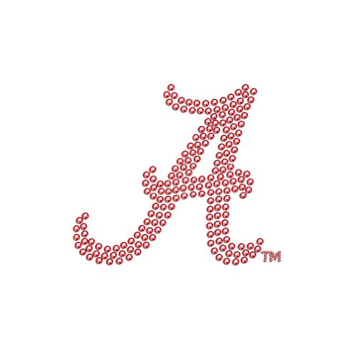 NCAA Siskiyou Sports Womens Alabama Crimson Tide Bling Decal One Size Team Color