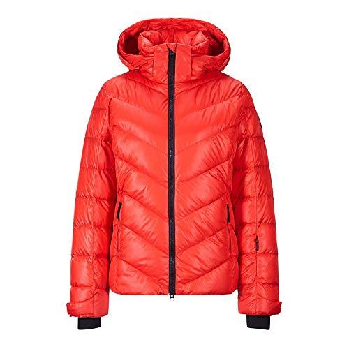 Bogner Fire + Ice Ladies Sassy2-D Rot, Damen Daunen Jacke, Größe 38 - Farbe Lava Red