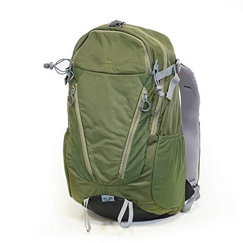 mapuera Selvaro - Kleiner 21l Wanderrucksack mit vielen Fächern und Regenhülle, Daypack für Bergwanderungen und Tagesausflüge