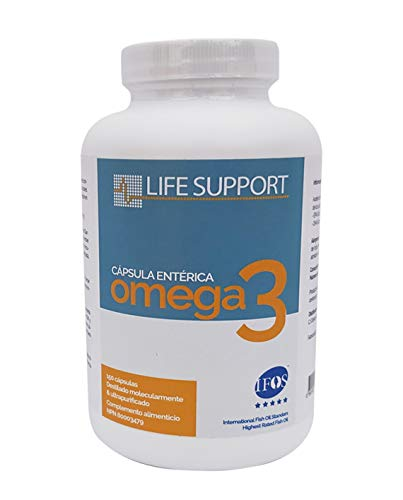 Omega 3 LS (150 Capsule Di 1000Mg) IFOS Certificata. Formato Estere Etilico. Molto Concentrato: 400 Mg Di EPA E 200 Mg Di DHA. Grado Farmaceutico, Ultra-Raffinata, Molecolarmente Distillata.