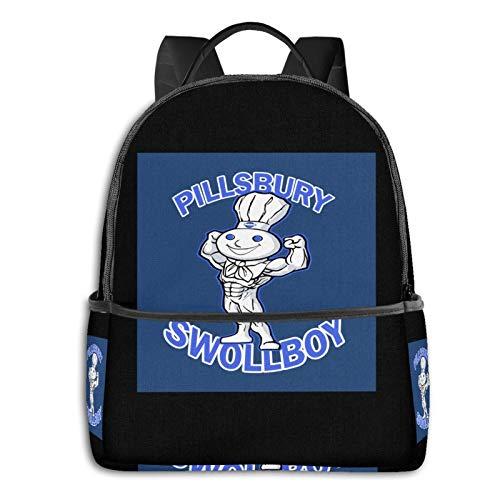 Pillsbury Swollboy Laptop Backpack Fashion Theme School Backpack