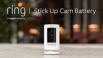 Ring Stick Up Cam Battery von Amazon, HD-Sicherheitskamera mit Gegensprechfunktion, funktioniert mit Alexa | Mit...
