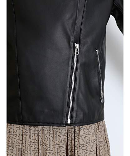 『[スナイデル] ライダースジャケット SWFJ204020 レディース BLK 日本 0 (日本サイズ7 号相当)』の8枚目の画像