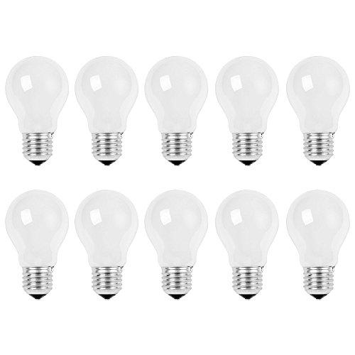 10 x Glühbirne 75W E27 MATT Glühlampe 75 Watt Glühbirnen Glühlampen