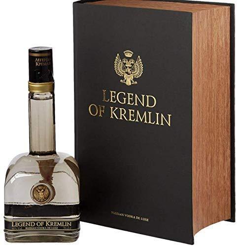 Legend of Kremlin Vodka Black Book 70cl