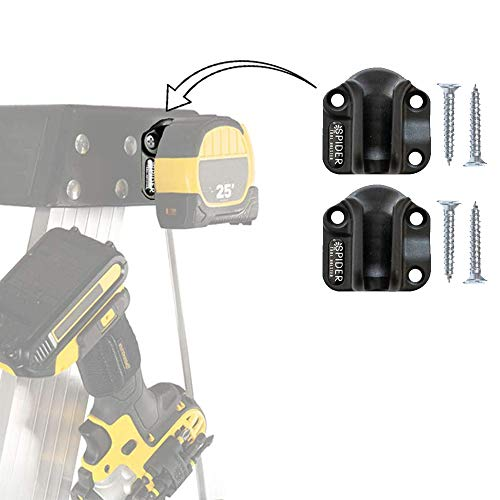Spider Tool Holster - Tool Docks - Pack of Two - Install Spider Compatible Tool Storage Anywhere in Your workspace!