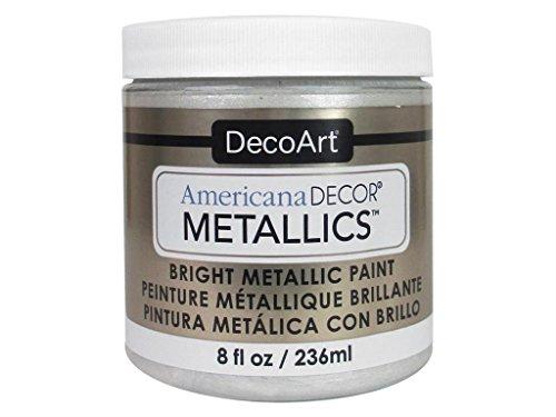 Deco Art Americana Décor Metallic Jar der Farbe, Acryl, Perle, 7x 7x 8cm