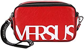 TOOGOO Personality Wide Shoulder Strap Versatile Shoulder Bag Small Square Bag Honey Judi Bag Casual Shoulder Bag Black