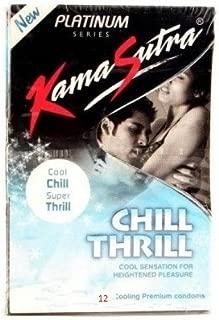 Kama Sutra Platinum Chill Thrill Condoms (10s Packs) - Pack of 3