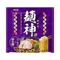 明星食品 麺神 神太麺×旨 醤油 12入