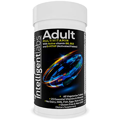 One Daily Adult Multivitamin by Intelligent Labs, 25 Essential Vitamins and...