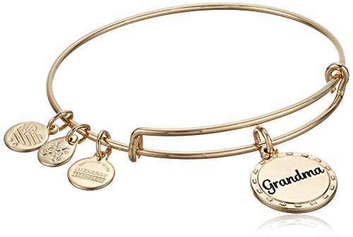 Alex and Ani Because I Love You Grandma Bangle