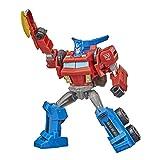 Transformers Bumblebee Cyberverse Adventures Warrior Class Optimus Prime Figura de acción Juguete, Movimiento de Ataque repetible, Edades de 6 y más, 5.4 Pulgadas