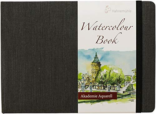 Hahnemuhle Watercolor Book A5 (5.8x8.3 inches) 200gsm Landscape