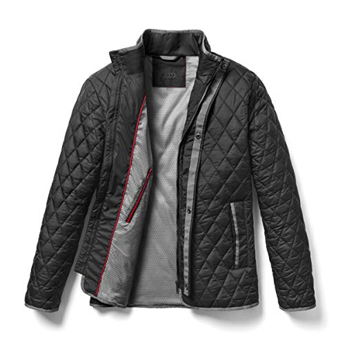 Audi collection 313180070 Audi Steppjacke Herren (XL), Schwarz